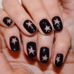 Classic Black Nail Art Designs for Trendy Ladies
