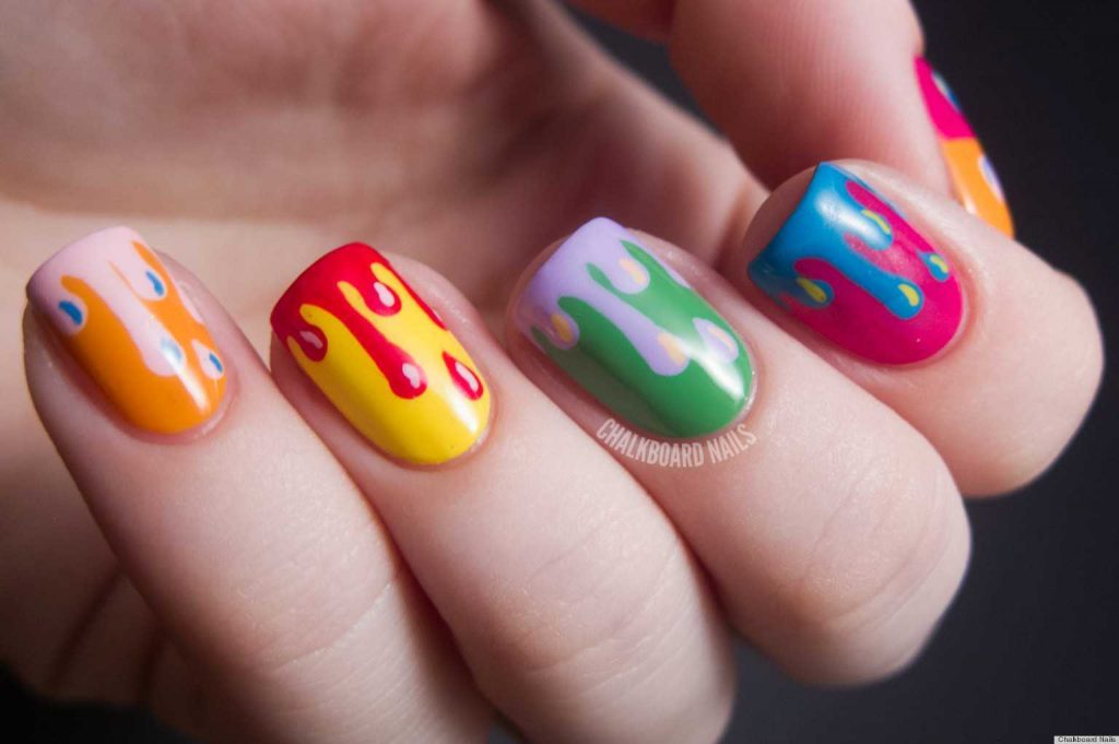 Ascent Your Short Nails with Colorful Chic Nail Art Designs